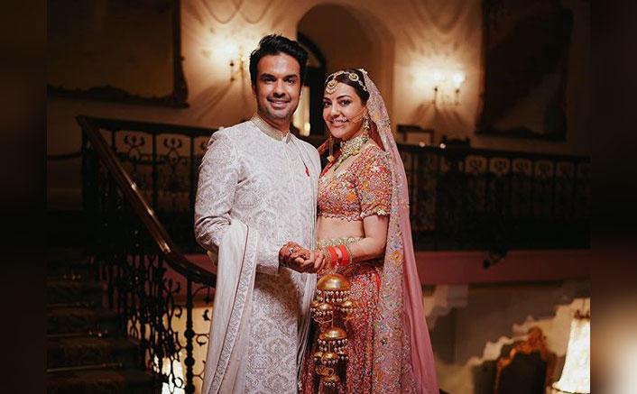 Gautam Kitchlu Shares An Adorable Pic With Kajal Aggarwal; Calls Her 'Mrs. Aggarwal'