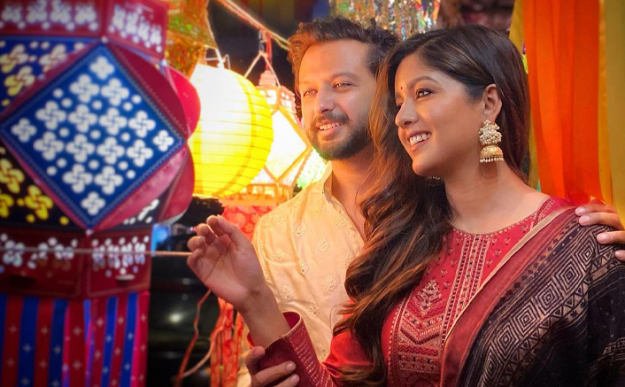 Vatsal Sheth, Ishita Dutta Go Kandil Shopping To Support Local Business