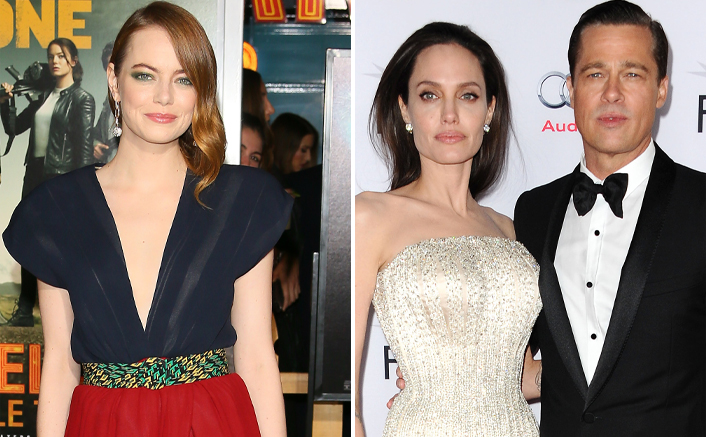 Emma Stone Makes A Fun Revelation About The First Time Her Mom Met Brad Pitt & Angelina Jolie