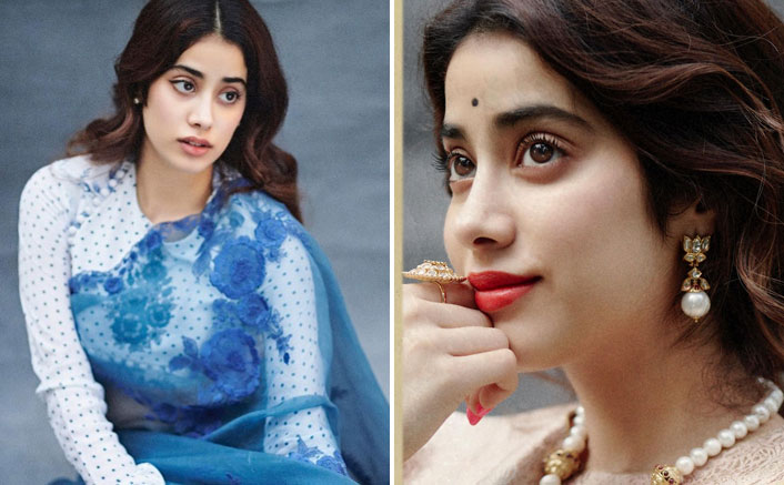 Janhvi Kapoor pretends to live in the 1950s