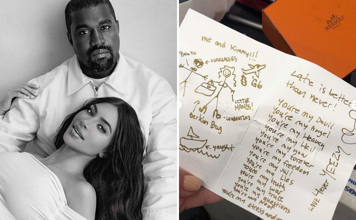 When Kanye West's Birthday Card To Kim Kardashian Inspired His Music