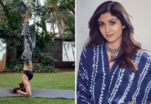 When Shilpa Shetty nailed Shirshasana despite cervical spondylosis
