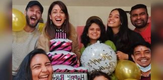 Yami Gautam thanks her extended family for making her working birthday memorable