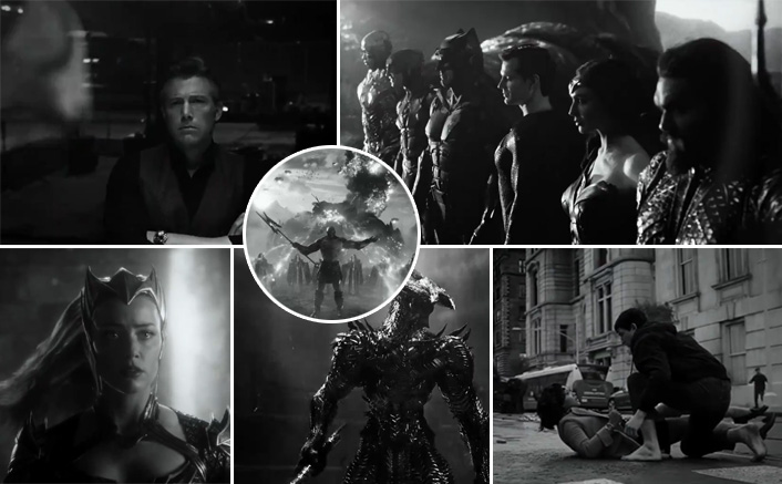 Zack Snyder Finally Releases A Black & White Trailer Of Justice League