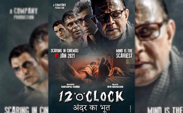 2021's first release in cinemas is a psychological horror 12'o' clock by Ram Gopal Varma