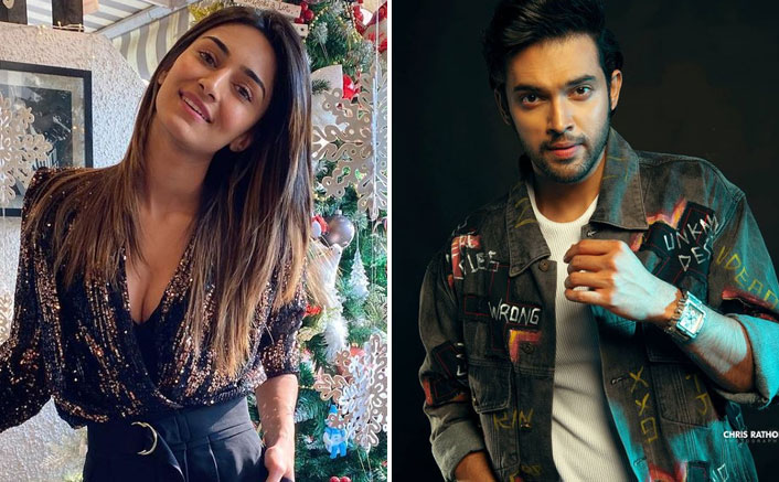 Erica Fernandes Gives A Sneak Peek To Christmas Celebrations; Parth Samthaan Reacts