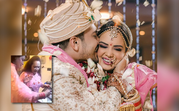 Aditya Narayan Warns Shweta Agarwal To Go Back Home Post-Wedding(Pic credit: Instagram/adityanarayanofficial)