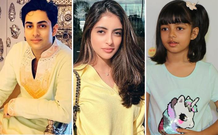Agastya Nanda's New Picture With Navya Naveli Nanda & Aaradhya Bachchan Is Pure Siblings Goal