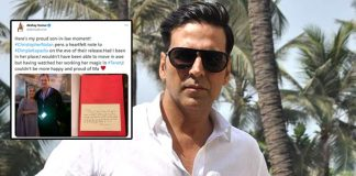 Akshay Kumar Is A 'Proud Son-In-Law', Shares Tenet Director Christopher Nolan's Heartwarming Note For Dimple Kapadia