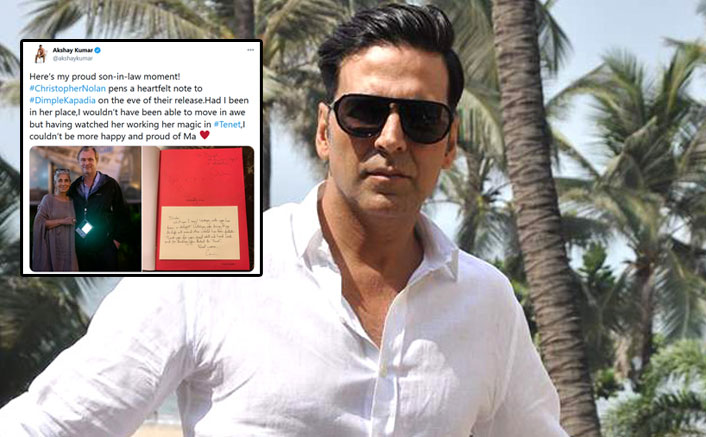 Akshay Kumar Pens A Sweet Note For Mother-In-Law Dimple Kapadia Post The Release Of Tenet In India