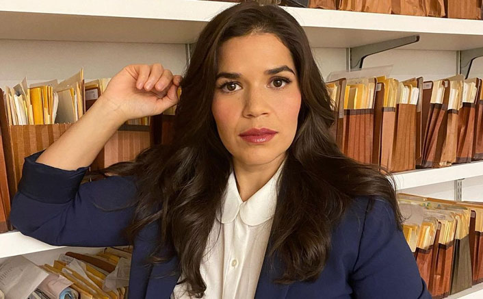 America Ferrera: Working from home is difficult as mommy