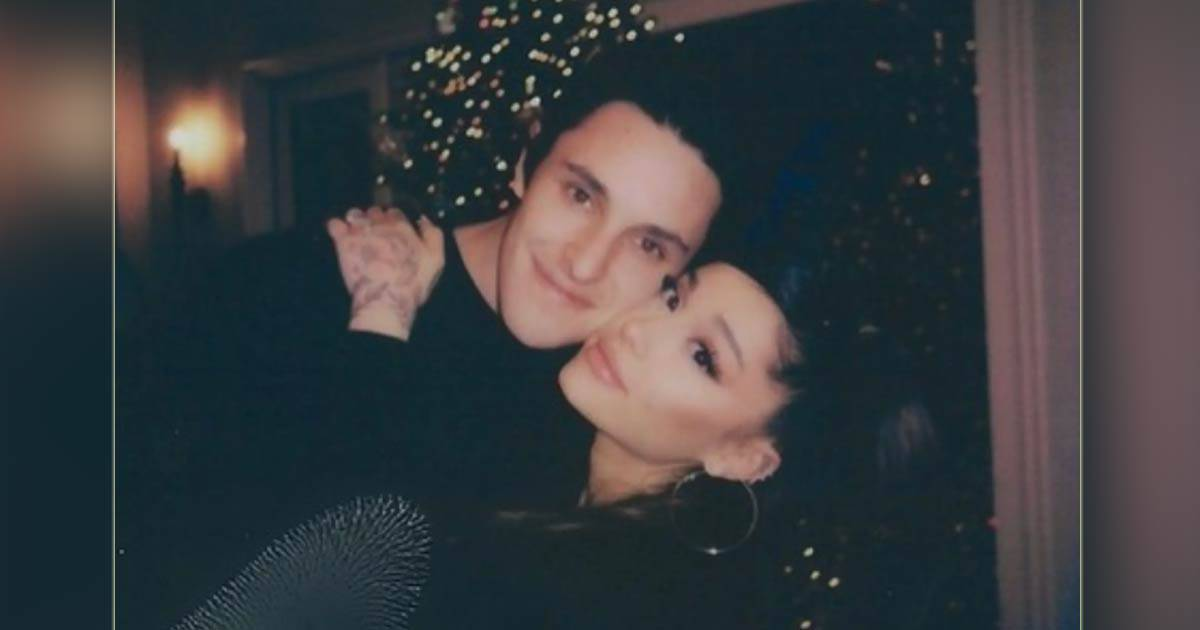 Ariana Grande Passionately Kisses Boyfriend Dalton Gomez As They Enjoy The Holiday Season