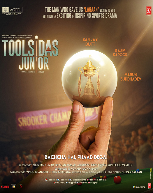 Toolsidas Junior - The First Jointly Produced Film By Ashutosh Gowariker & Bhushan Kumar