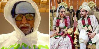 Amitabh Bachchan 'features' in Aditya Narayan's wedding video in a quirky way