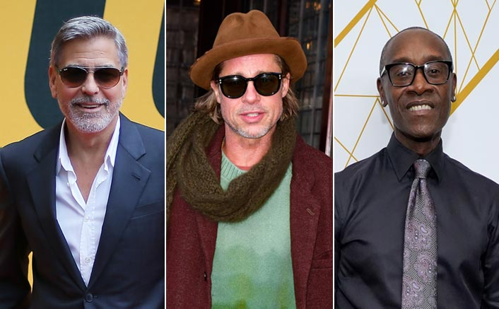 Brad Pitt & Don Cheadle Stayed At A Horror House To Win A $10,000 Bet, George Clooney Reveals