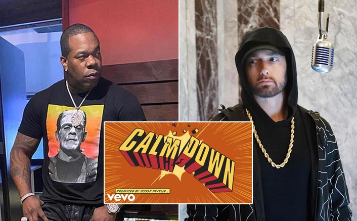 Busta Rhymes Reveals How Competitive Eminem Was While Recoding 'Calm Down'