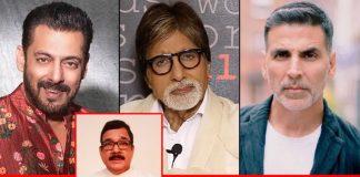 CINTAA Asks For Funds From Salman Khan, Akshay Kumar & Amitabh Bachchan For Ailing Actor Shiv Kumar Verma