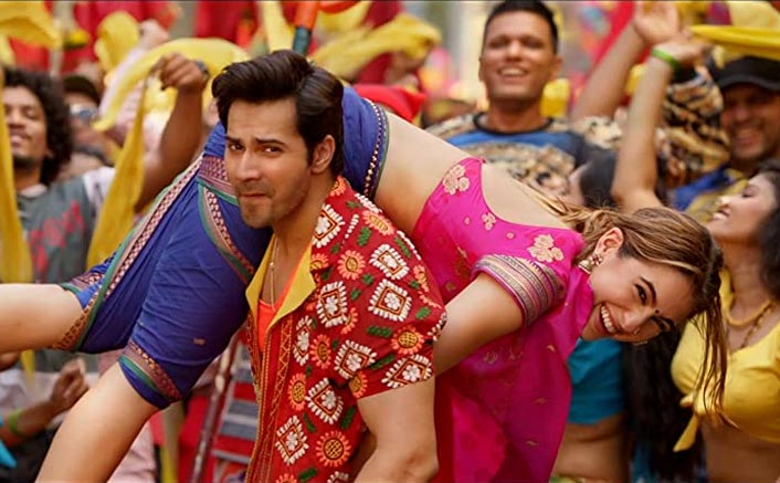 Coolie No. 1 Movie Review: Varun Dhawan, Sara Ali Khan In A Still
