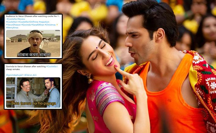 Coolie No 1 Starring Varun Dhawan & Sara Ali Khan Ignites A Meme Fest
