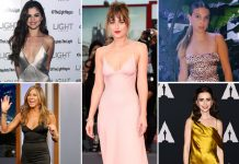 Dakota Johnson, Selena Gomez To Millie Bobby Brown – Satin Dress Inspirations For New Year's Night!
