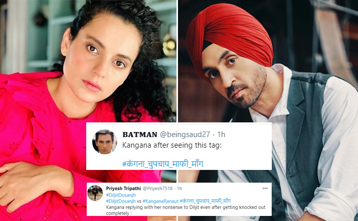 Kangana Ranaut Receives Severe Backlash On Twitter After Replying To Diljit Dosanjh(Pic credit: Instagram/kanganaranaut, diljitdosanjh)
