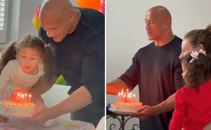 Dwayne Johnson Gets Emotional On Her Daughter Jazzy's 5th Birthday