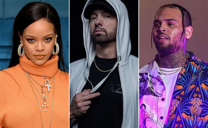 Eminem Apologizes To Rihanna Over Siding With Chris Brown In A Leaked Song