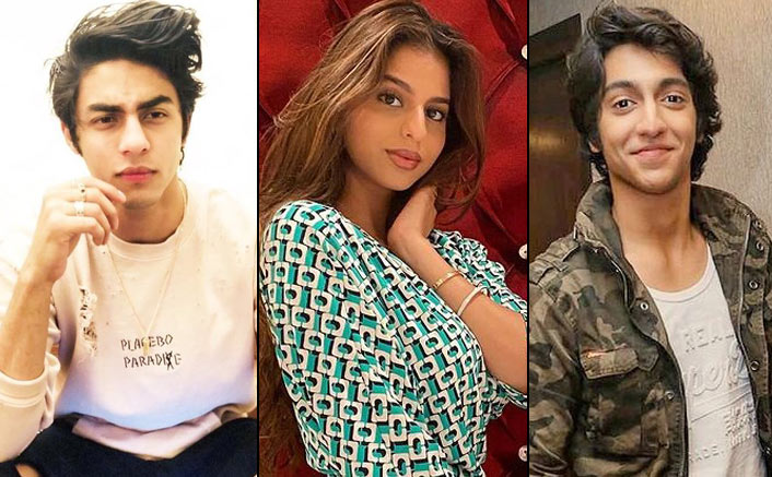 Even Before Debuting Into The Filmy World, Bollywood Star Kids Like Aryan Khan, Suhana Khan& Ahaan Panday Have A Crazy Following On Social Media