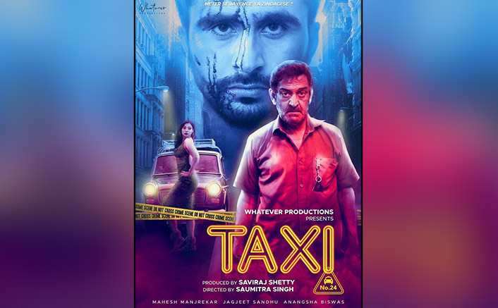 First Poster Of Mahesh Manjrekar's Taxi No. 24 Unveiled