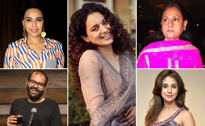 From Diljit Dosanjh To Jaya Bachchan, 5 Ugly Spats Of Kangana Ranaut With Bollywood Stars In 2020