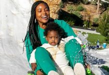 Gabrielle Union says her little girl is not a fan of snow or sledding