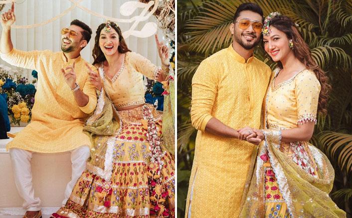 Gauahar Khan & Zaid Darbar Caught Dancing At Pre-Wedding Ceremony!