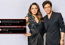 Gauri Khan Shares A Throwback Pic With Shah Rukh Khan