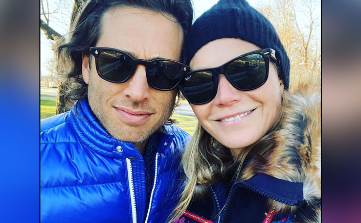 Gwyneth Paltrow Spotted Sharing A Passionate Kiss With Husband Brad Falchuk