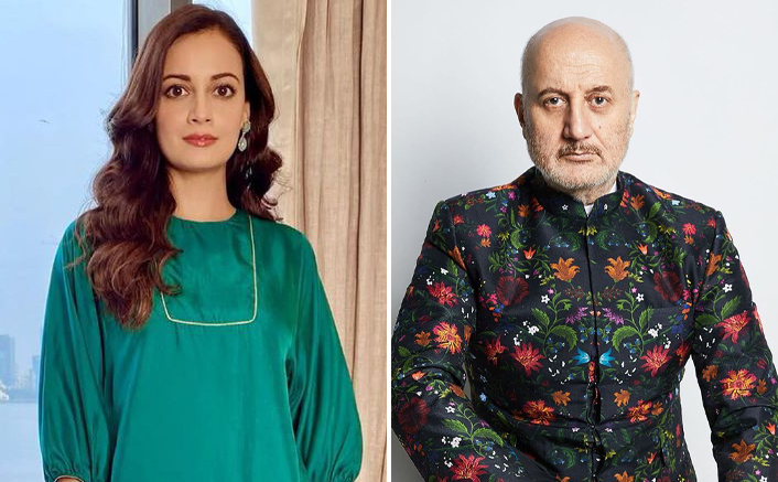 When Anupam Kher Convinced Dia Mirza's Parents That Bollywood Isn't A 'Big Bad World'