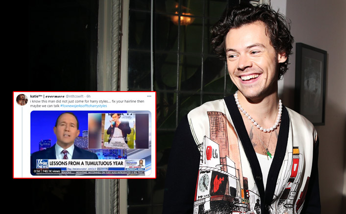 Harry Styles Called 'Ridiculous' By Fox News Anchor Over His Vogue Cover; Netizens Trend #FoxNewsJerksOffHarryStyles; Read on