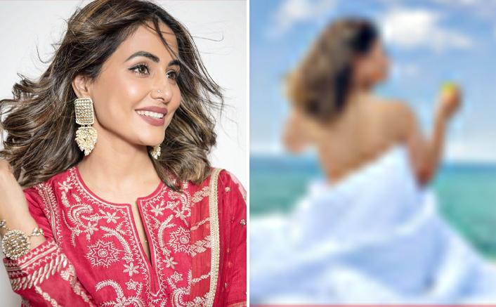 Hina Khan Enjoys Vacation In Maldives
