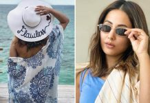 Hina Khan Shows Off Her Stylish Avatar In Maldives