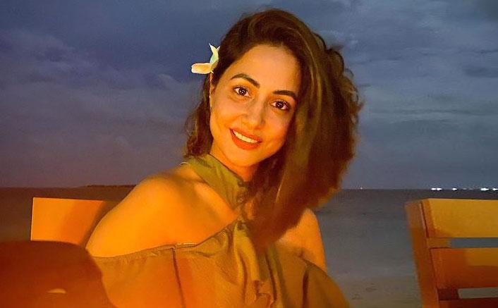 Hina Khan shares night mode photography
