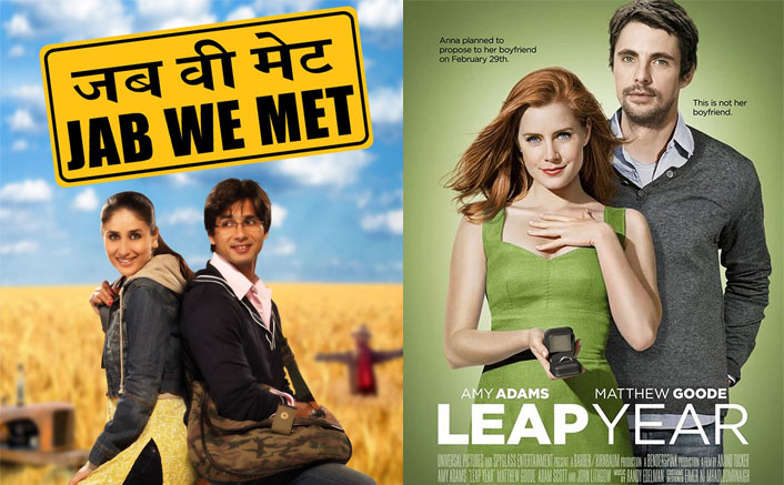 Bollywood Inspired Hollywood: Jab We Met (2007)Was Adapted As Leap Year (2010)