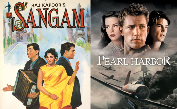 Sangam (1964) Was Adapted As Pearl Harbour (2001)