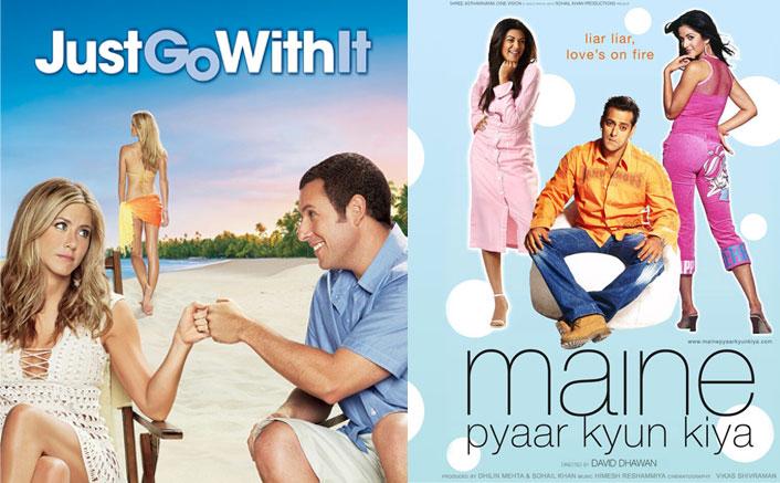 Maine Pyaar Kyun Kiya (2005) Was Adapted As Just Go With It (2011)