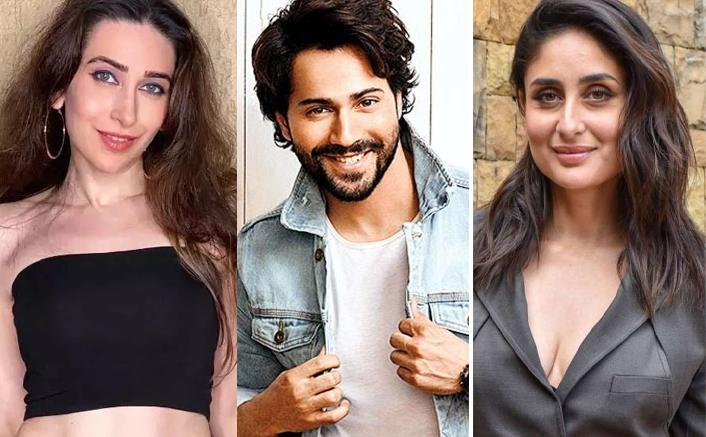 Coolie No.1:  Varun Dhawan and Sahil Vaidya introduce us to Karishma and Kareena!