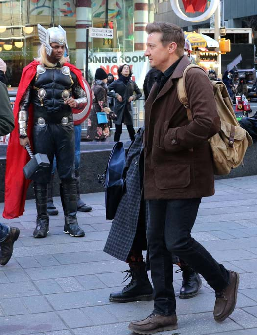 Jeremy Renner Had A Mini Avengers Reunion & We Cannot Stop Looking At The Pictures