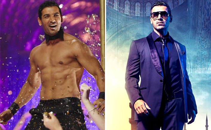 Different Styles Of Spikes In Desi Boyz & Race 2 Is Something We Guess Only John Abraham Could Pull Off