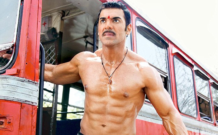 For Shootout At Wadala, John Abraham's Hair Was Pulled Back & He Looked Every Bit The Gangster