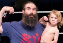 Jonathan Huber AKA Luke Harper's 8-Year-Old Son Signed By AEW