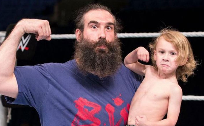 Jonathan Huber's Son Signed By AEW