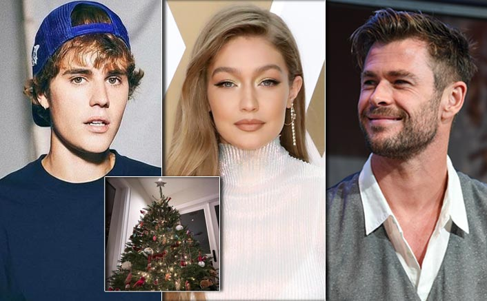 Justin Bieber To Gigi Hadid & Chris Hemsworth - Check Out Christmas Decorations Of Your Favourite Celebs
