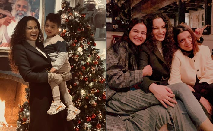 Kangana Ranauts Wishes Christmas In Her Own Style